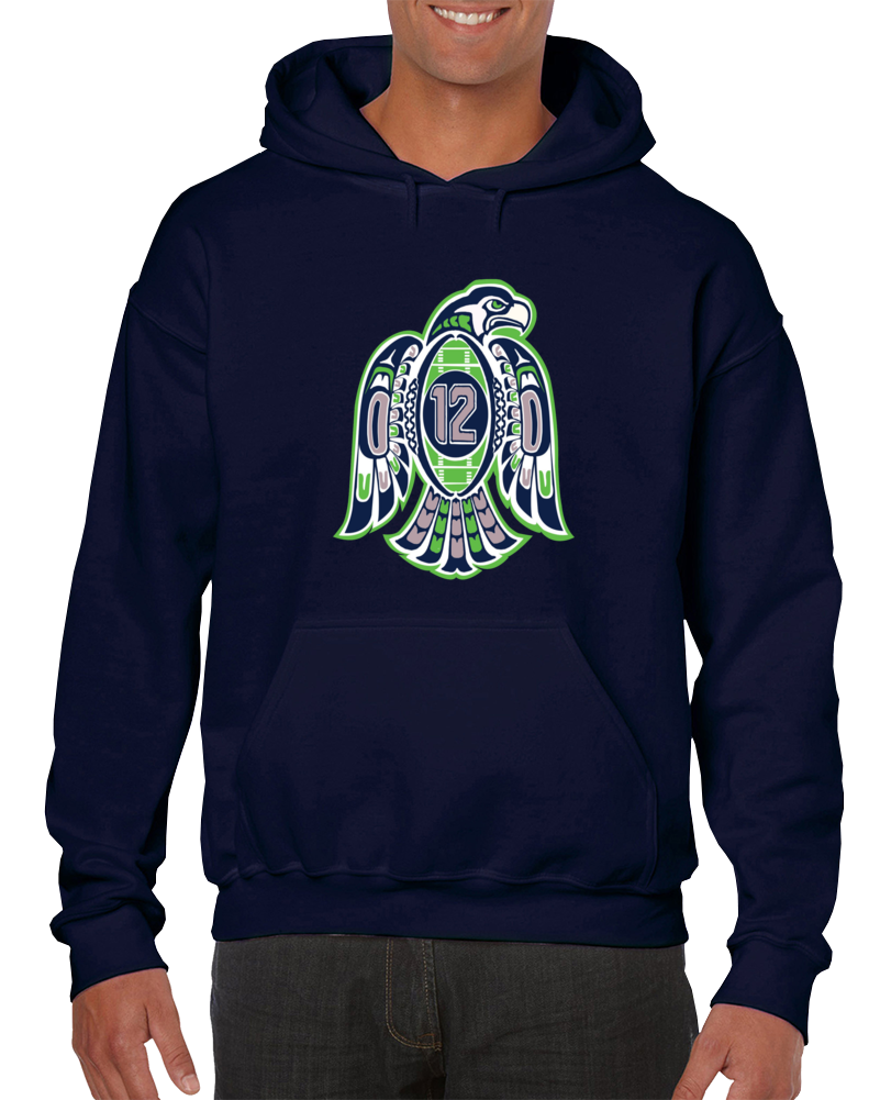 Seattle Football 12th Man Hoodie