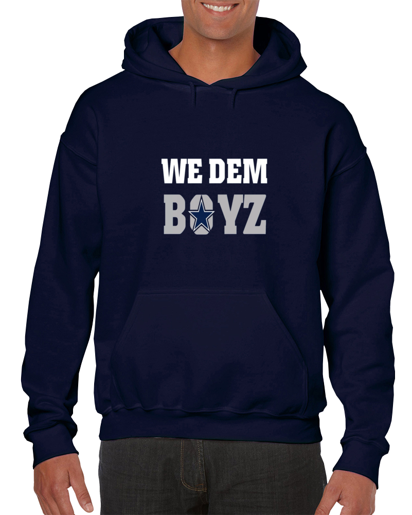 We Dem Boyz Dallas Football Team Hoodie