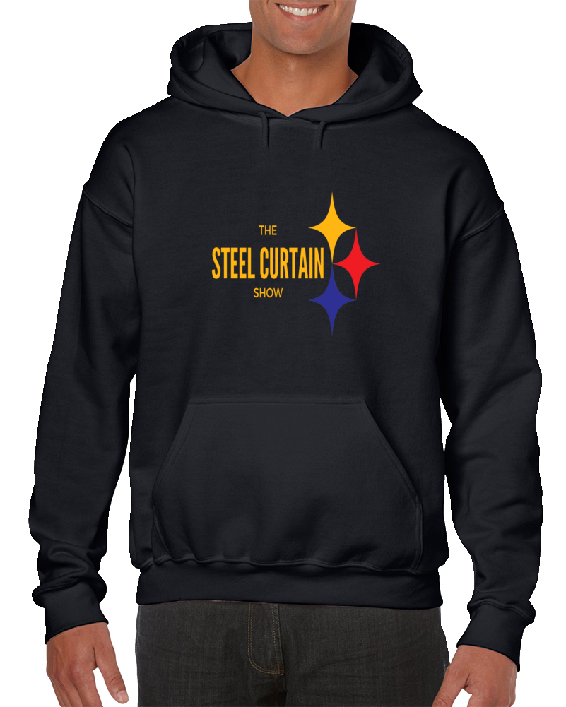 The Steel Curtain Show Pittsburgh Football Hoodie