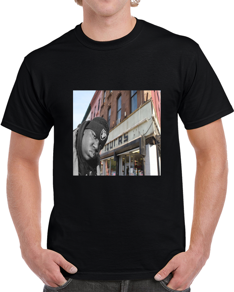 Biggie Brooklyn Streets Tshirt
