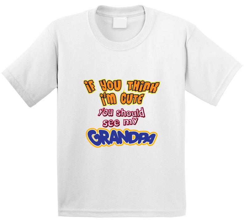 Cute Geandpa T Shirt
