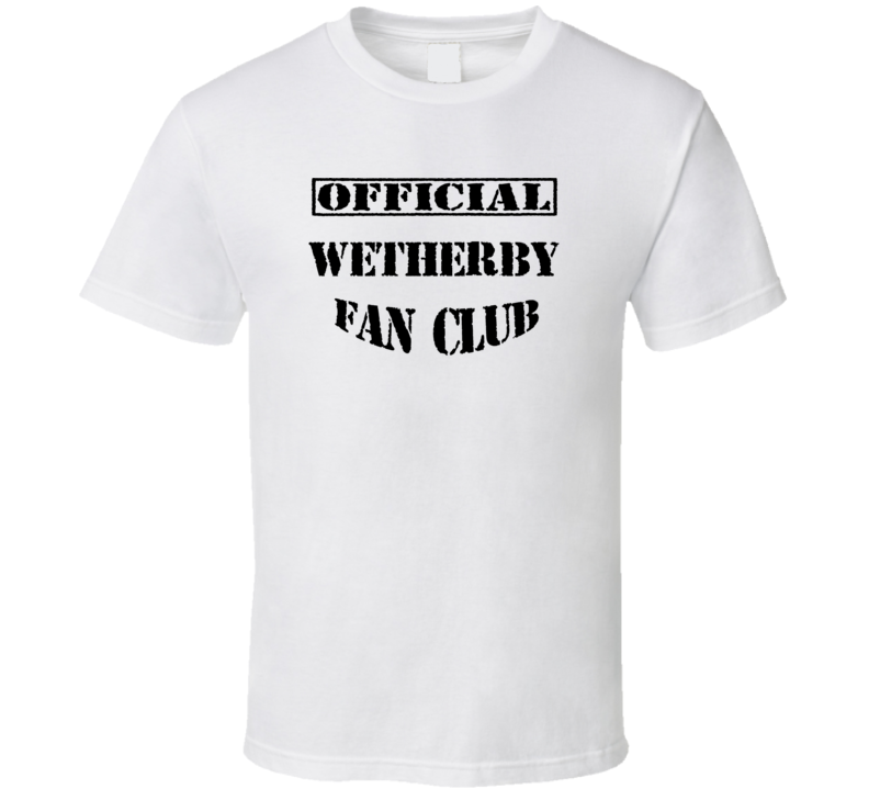 Wetherby Fan Club Favorite Character Novel Book T Shirt