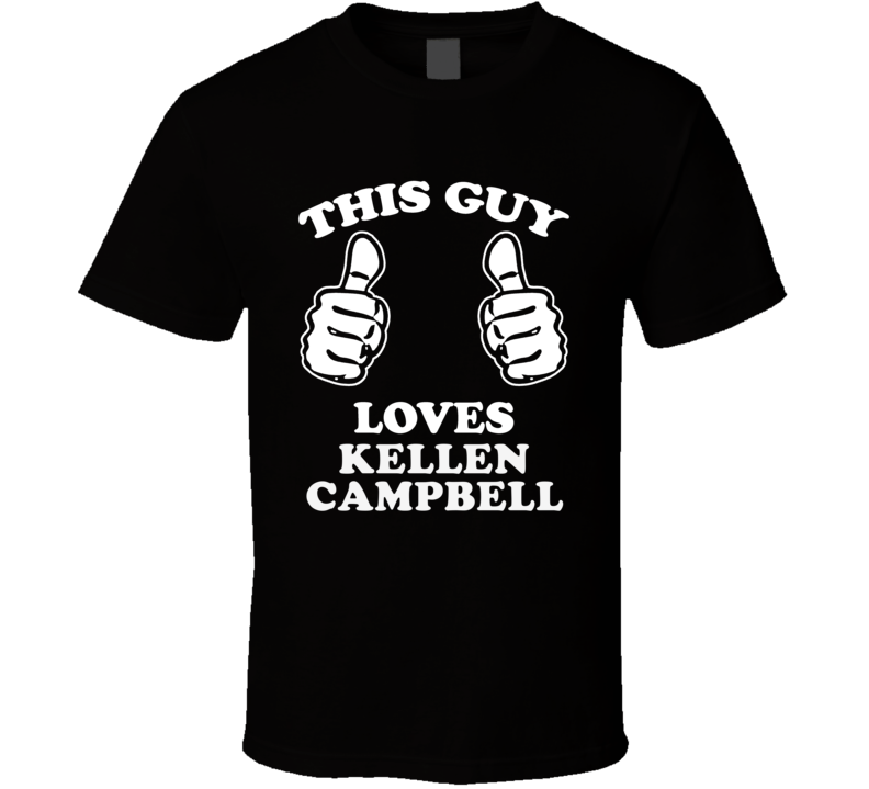 This Guy Loves Kellen Campbell The Strange Case Of Origami Yoda Cool Favorite Book Character Fan T Shirt