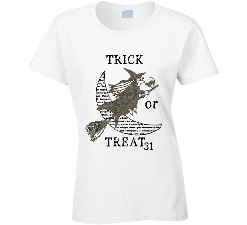 Trick Or Treat Scary Fun Halloween Which Costume T Shirt