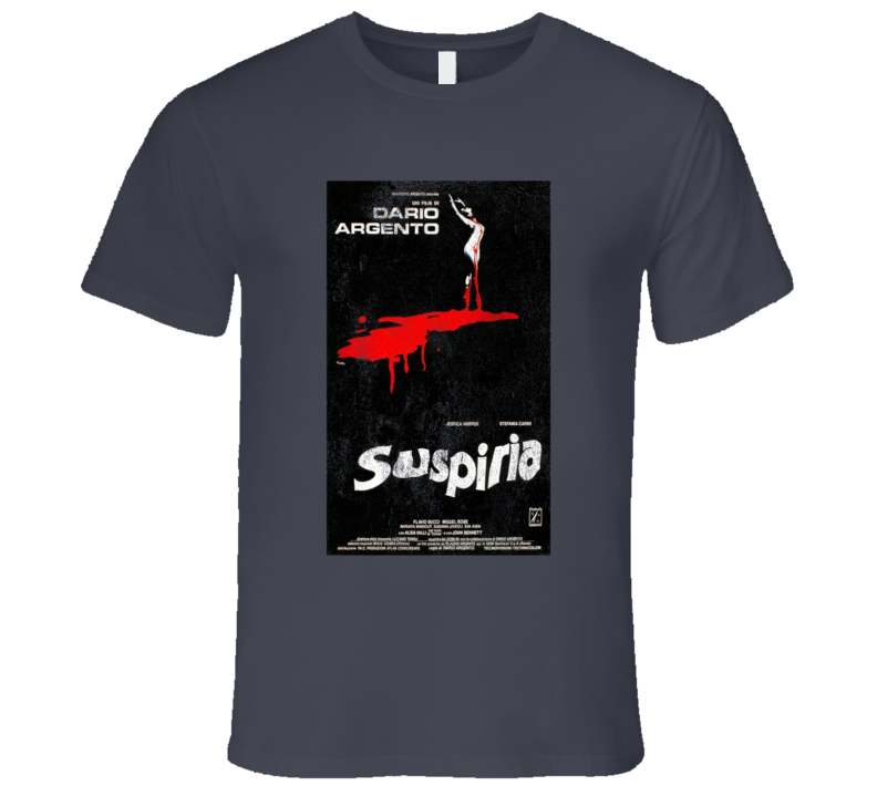 Suspiria Vintage Distressed Scary Movie Poster Halloween T Shirt