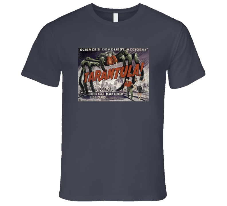 Tarantula Vintage Distressed Scary Movie Poster Halloween T Shirt