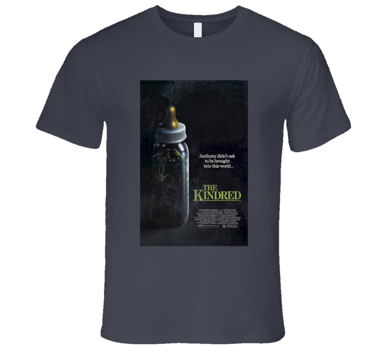 The Kindred Vintage Distressed Scary Movie Poster Halloween T Shirt