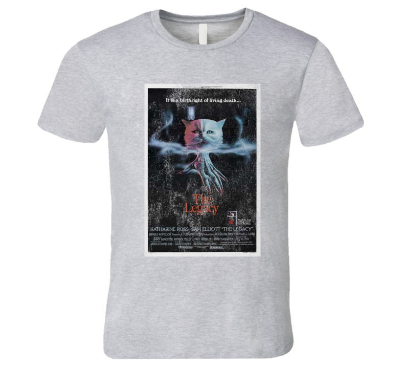 The Legacy Vintage Distressed Scary Movie Poster Halloween T Shirt
