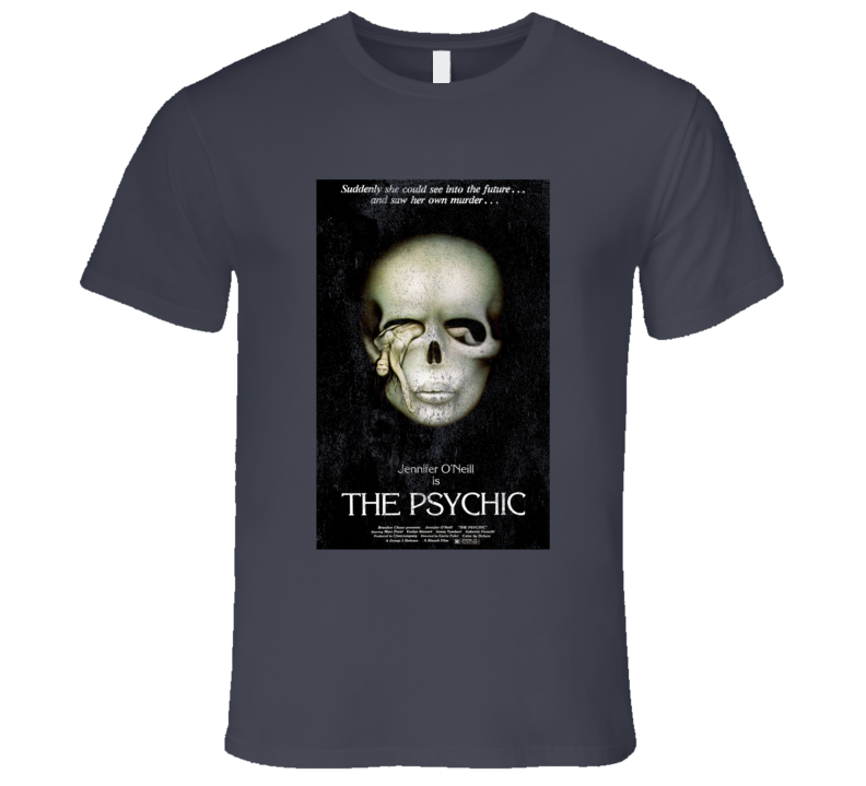 The Psychic Vintage Distressed Scary Movie Poster Halloween T Shirt