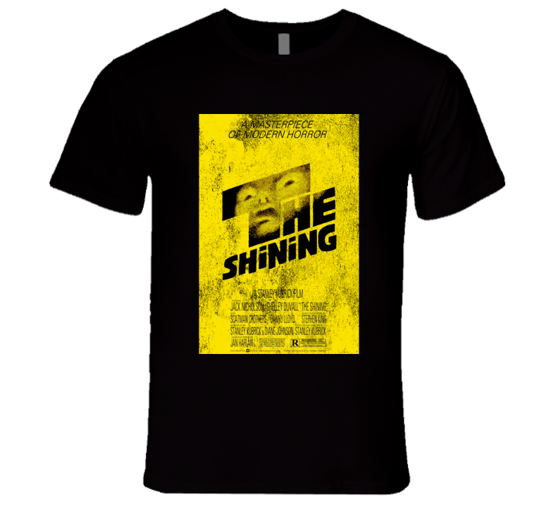 The Shining Vintage Distressed Scary Movie Poster Halloween T Shirt