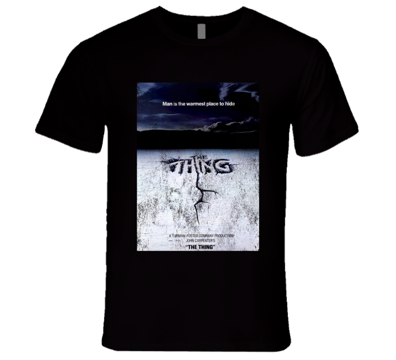 The Thing Vintage Distressed Scary Movie Poster Halloween T Shirt