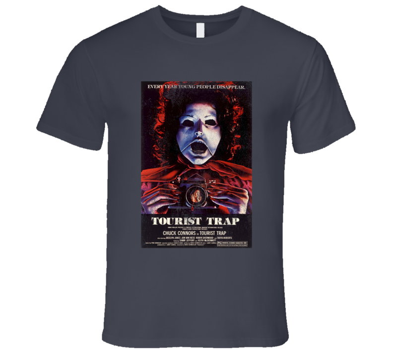 Tourist Trap Vintage Distressed Scary Movie Poster Halloween T Shirt