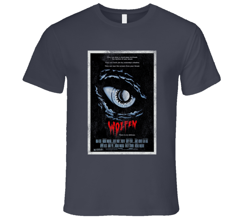 Wolfen Vintage Distressed Scary Movie Poster Halloween T Shirt