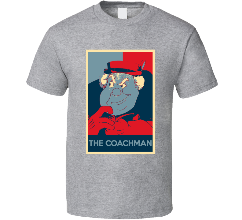 The Coachman Pinocchio Scary Movie Hope Parody Poster Halloween T Shirt