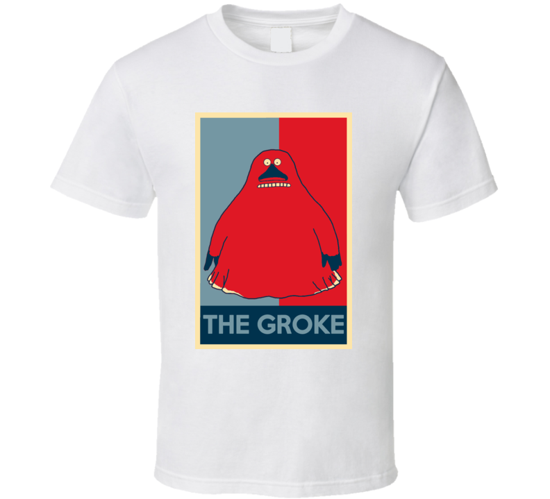 The Groke The Moomins Scary Movie Hope Parody Poster Halloween T Shirt