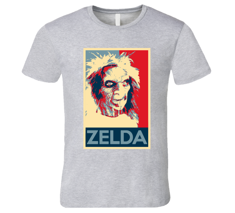 Zelda Terrahawks Scary Movie Hope Parody Poster Halloween T Shirt