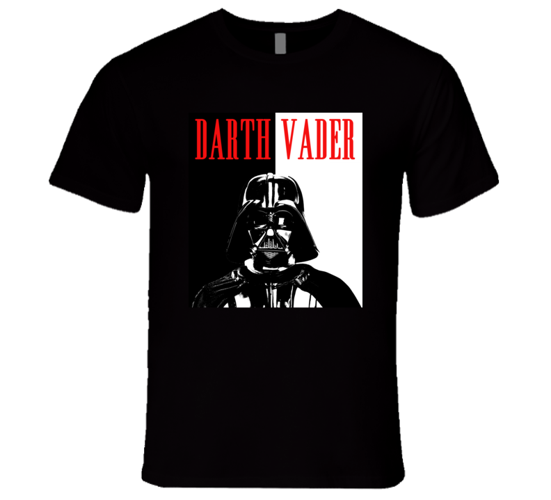 Darth Vader Star Wars Scary Movie Parody Poster Halloween T Shirt