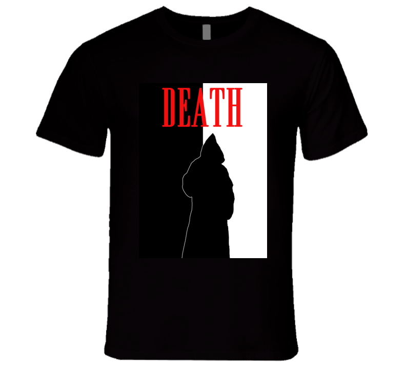 Death Spirit Of Dark And Lonely Water Scary Movie Parody Poster Halloween T Shirt