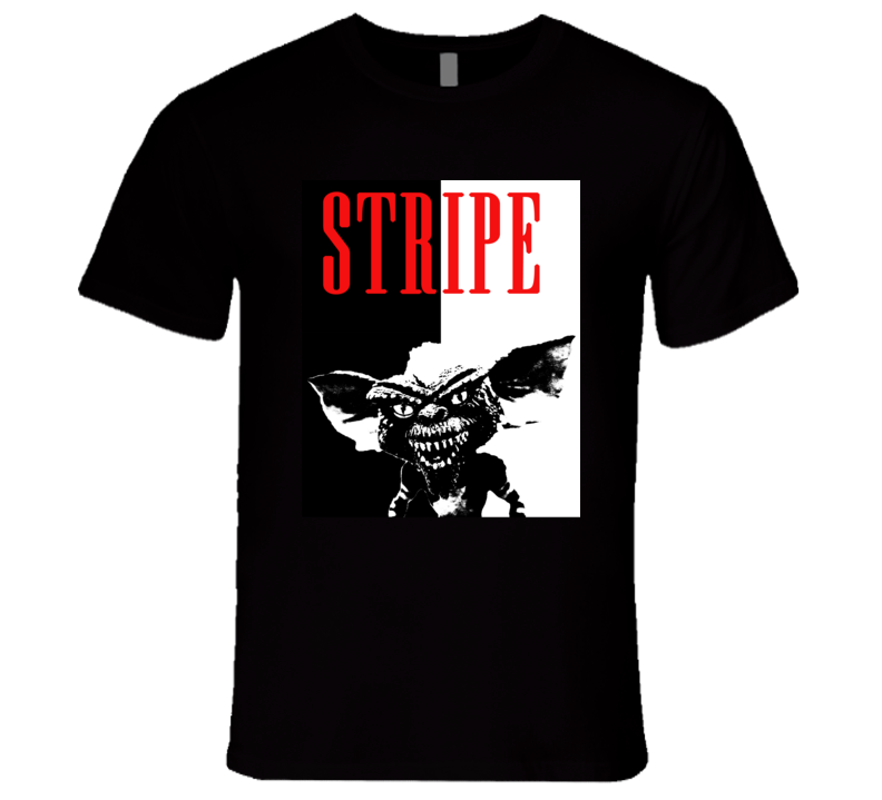 Stripe Gremlins Scary Movie Parody Poster Halloween T Shirt