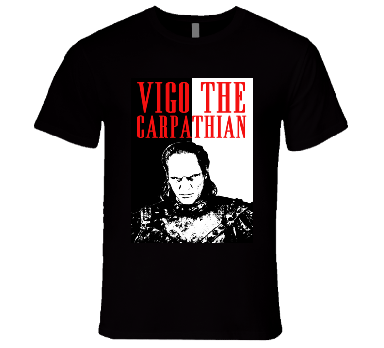 Vigo The Carpathian Ghostbusters II Scary Movie Parody Poster Halloween T Shirt