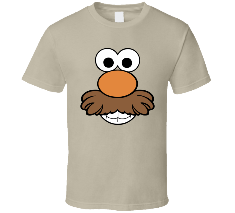 Mr Potato Head Face Kids Toy Story Simple Halloween Costume T Shirt
