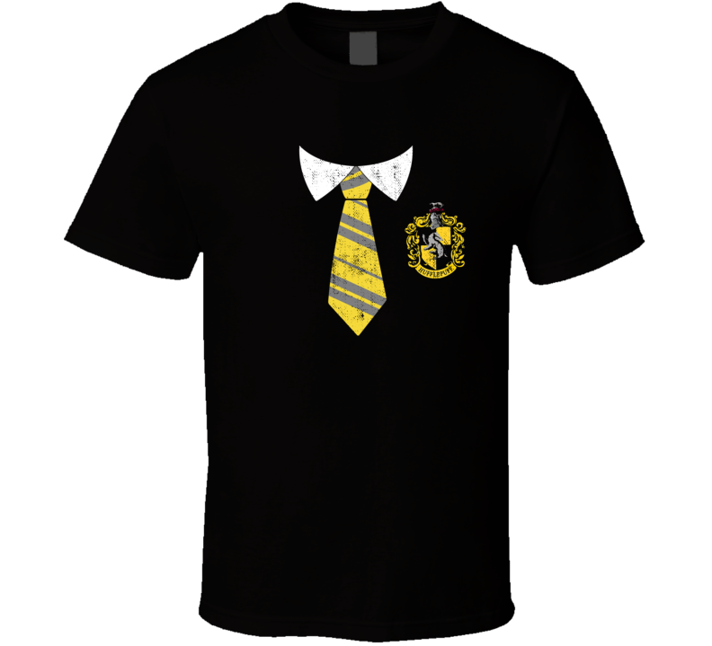 Harry Potter Hufflepuff House Hogwarts Uniform Halloween Costume T Shirt