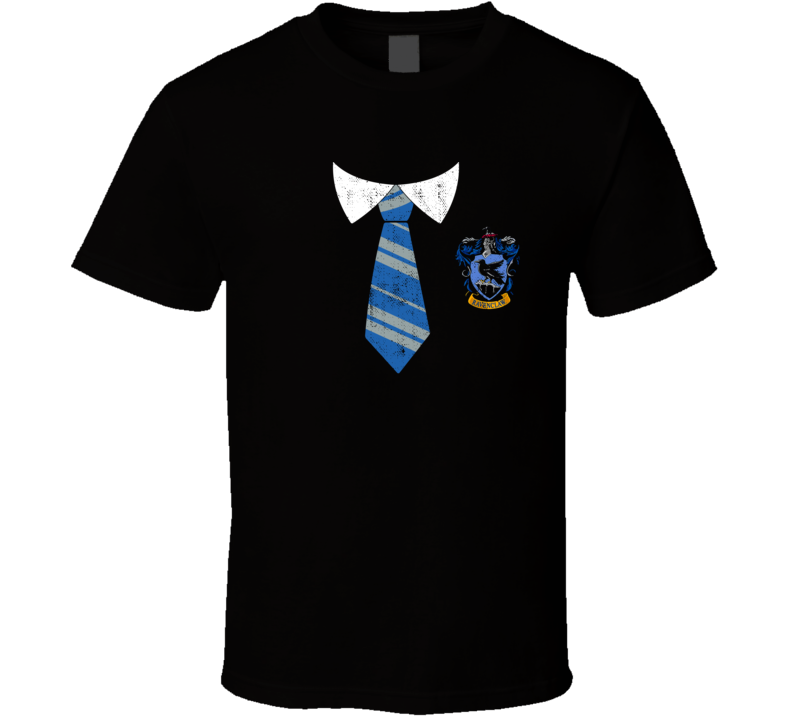 Harry Potter Ravenclaw House Hogwarts Uniform Halloween Costume T Shirt