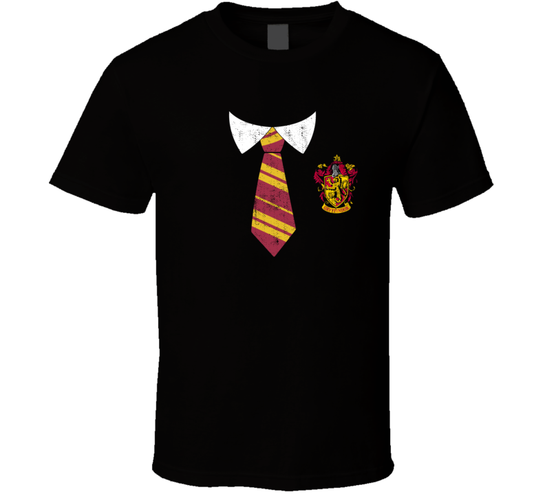 Harry Potter Gryffindor House Hogwarts Uniform Halloween Costume T Shirt