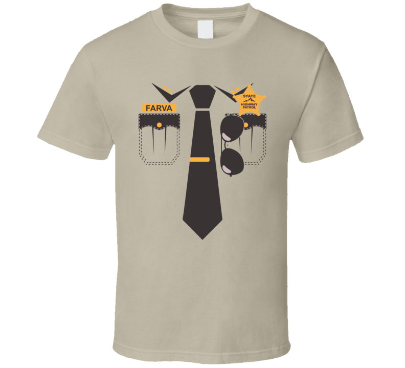 Farva Super Troopers Uniform Halloween Costume T Shirt