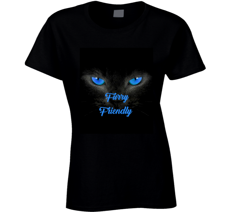Furry Friendly T Shirt