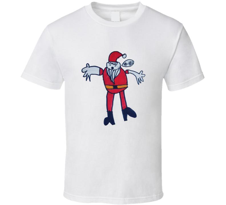 Cassandra's Santa T Shirt