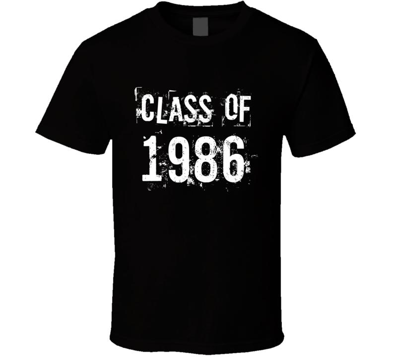 Class of 1986 (dark) T Shirt