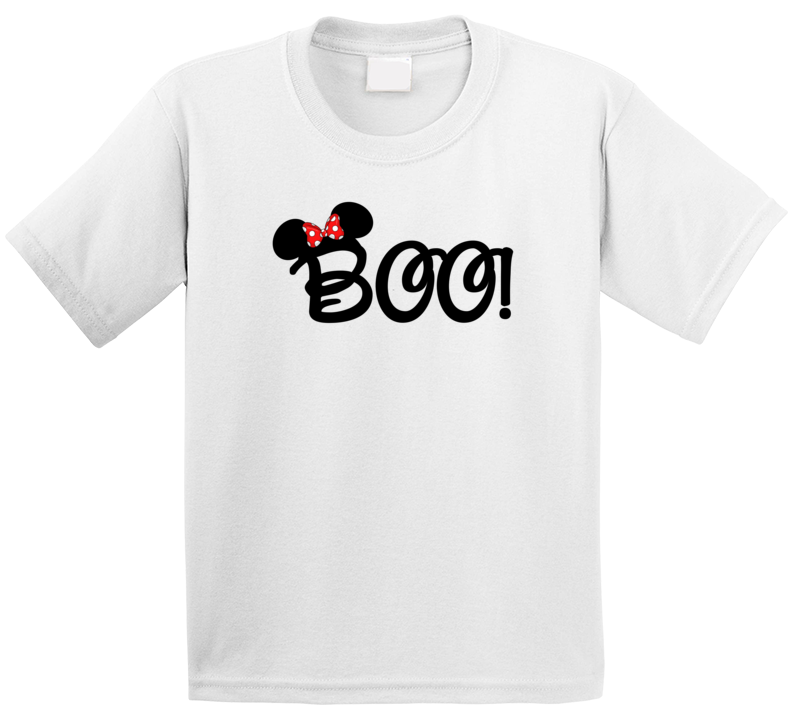 068ff3ed Disney Vacation Halloween Boo Minnie Mouse T Shirt