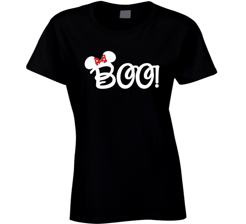 9e146f7d Minnie Halloween Boo T Shirt