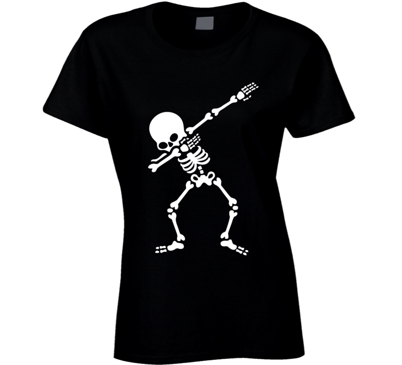 Dab Skeleton (for Dark Coloured) T Shirt