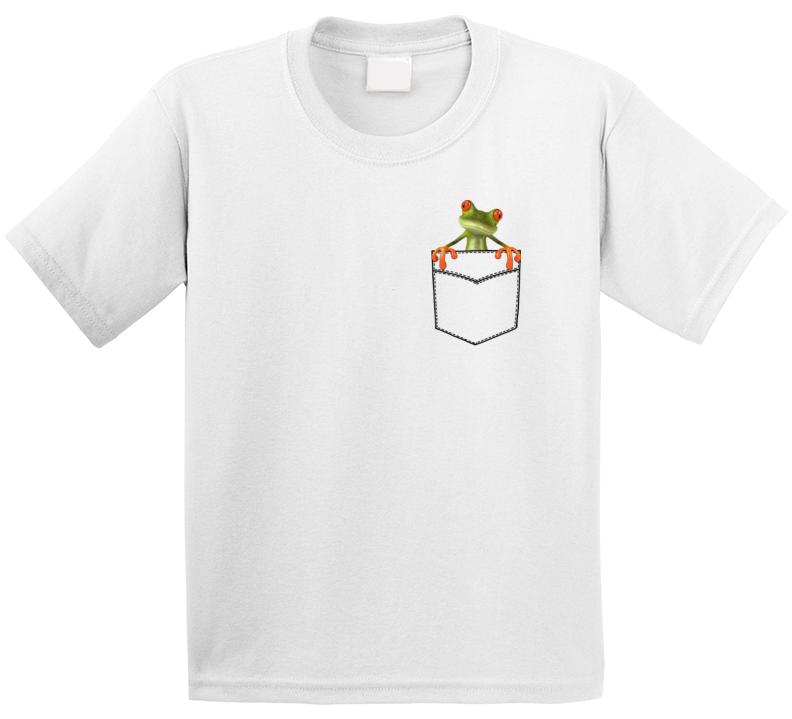 Pocket Frog T Shirt