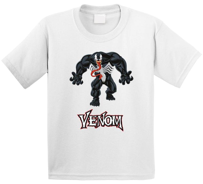 Cartoon Venom Spiderman T Shirt