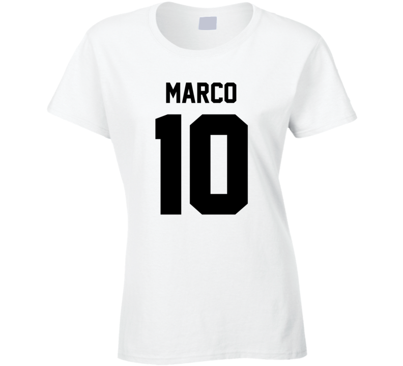 Soccer Glow Party - Marco 10 T Shirt