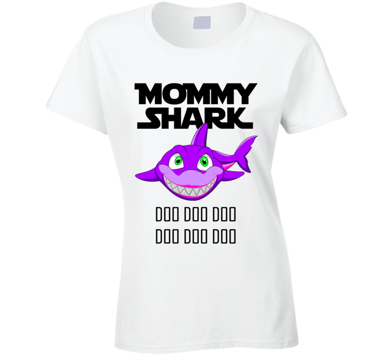 Mommy Shark (for Light) T Shirt