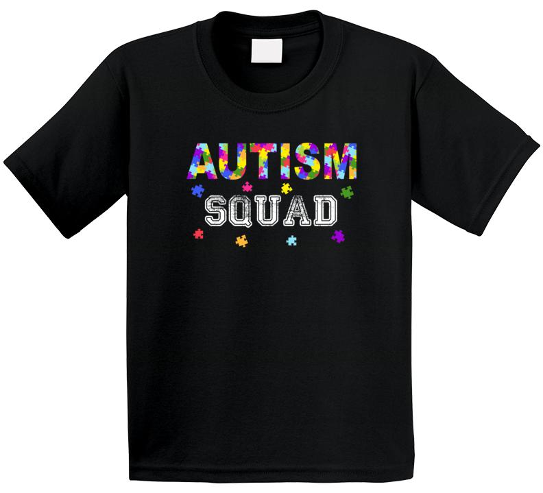 Autism Squad T Shirt