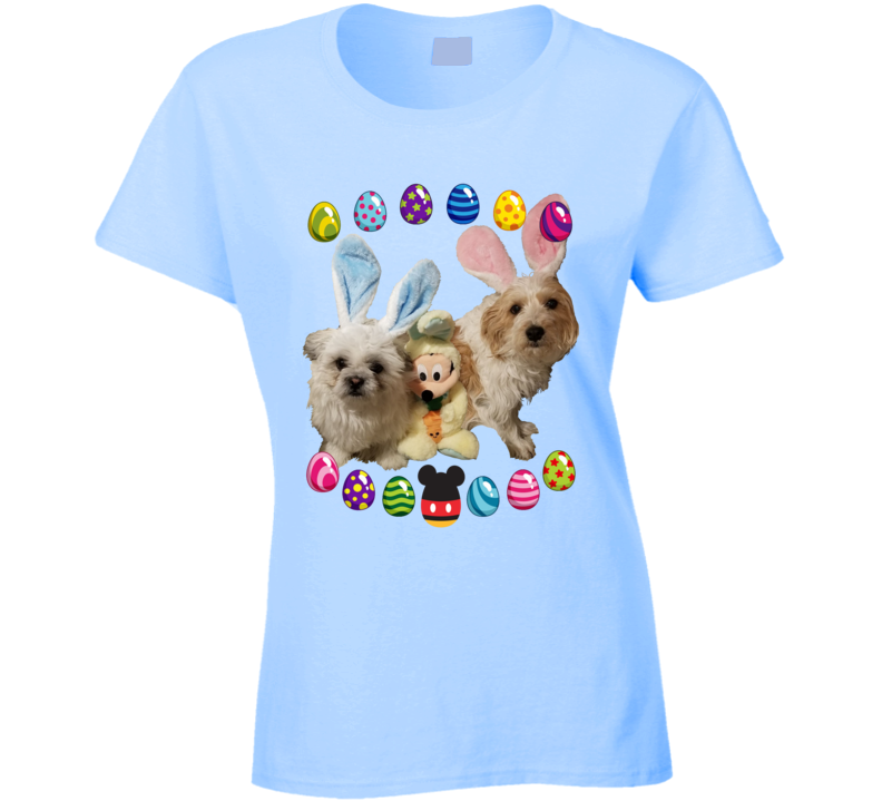 Mickey And Pups Fan T Shirt