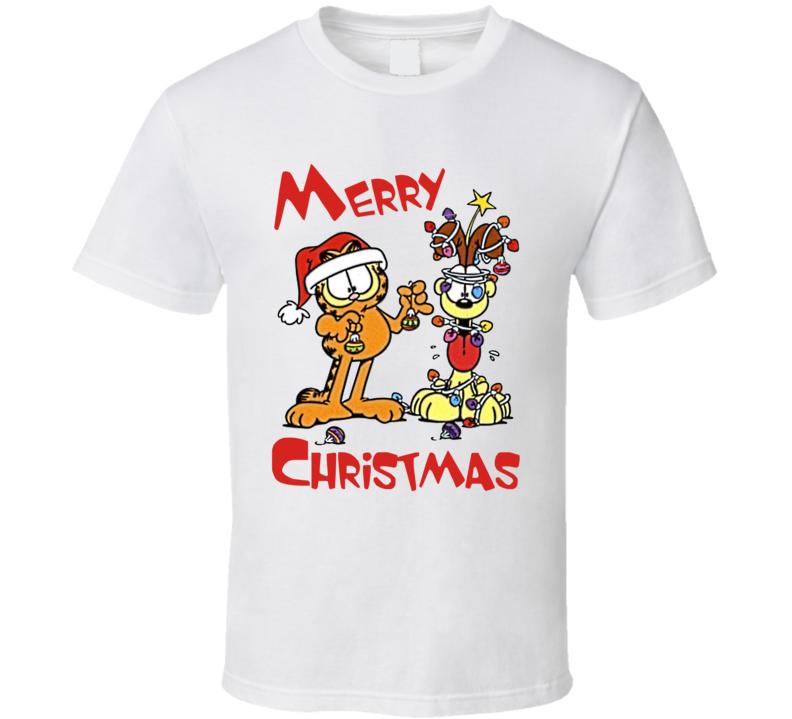 Garfield - Merry Christmas T Shirt
