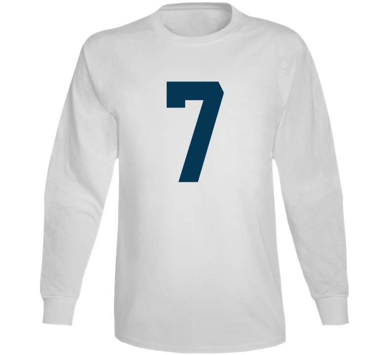 Whitby Fc United Soccer #7 Jersey (back) Long Sleeve