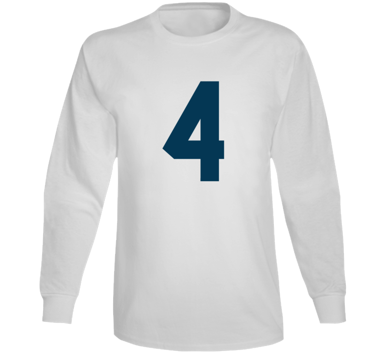 Whitby Fc United Soccer #4 Jersey (back) Long Sleeve