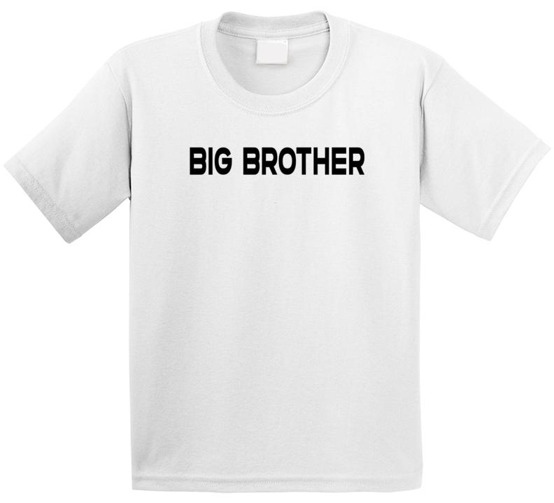 Super Hero Sidekick - Big Brother (back) T Shirt