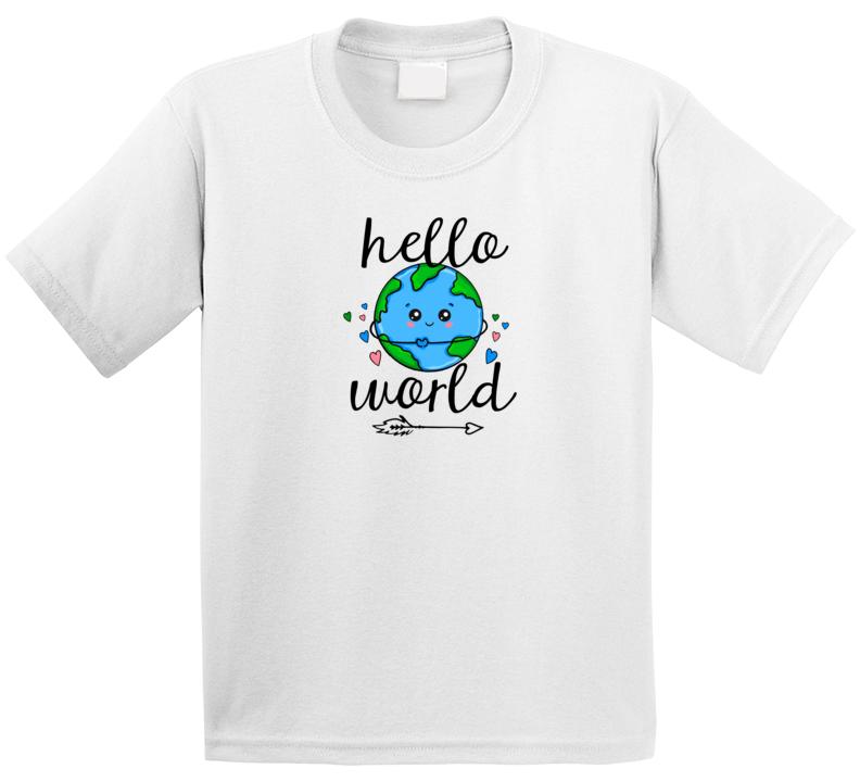 Hello World T Shirt