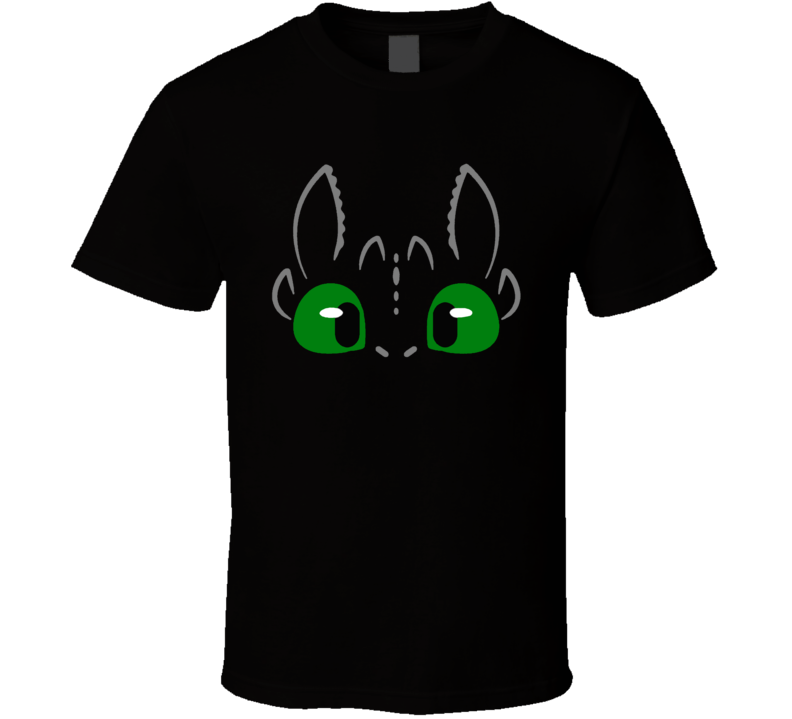 How To Train Your Dragon Toothless Costume T Shirt