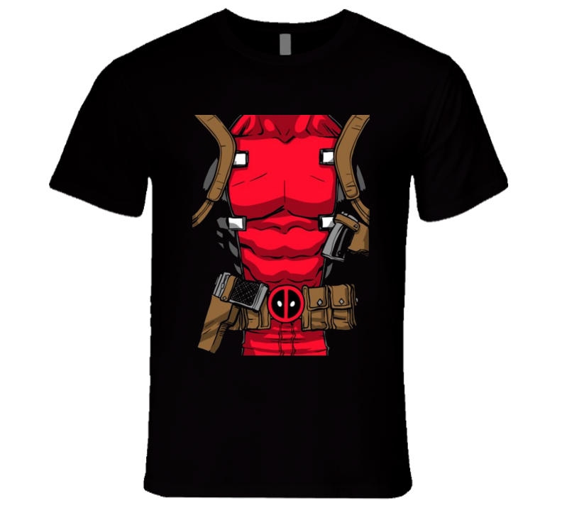 Deadpool Costume T Shirt