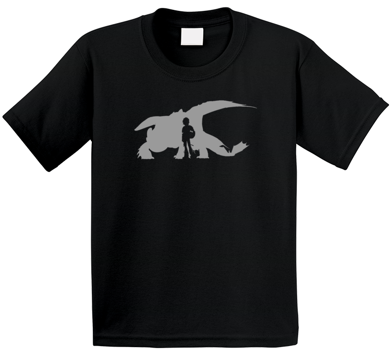 Toothless & Hiccup Forever How To Train Your Dragon Movie T Shirt