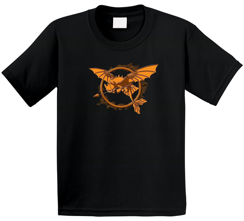 Toothless Hunger Games Parody T Shirt